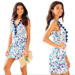 NWT Lilly Pulitzer Cabrey Shift Dress Pina Colada